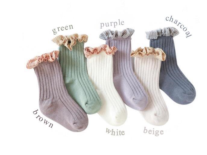 韓国子供服 の靴下が おしゃれで人気の件について。🧦